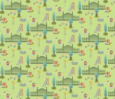 City Park fabric by magicjelly on Spoonflower - custom fabric
