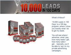 10,000 Leads in 100 Days Coaching System
