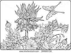 Flower Decoration Pattern