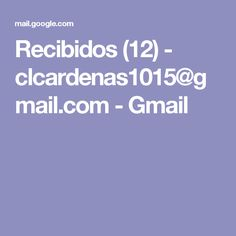 Recibidos (12) - clcardenas1015@gmail.com - Gmail Baby Photos, Ideas Para, Feminine Fashion, Stylish Dresses, Dinners, School, Furniture, Home, Blue Prints