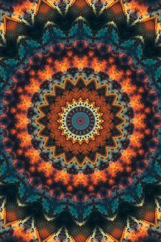 Fundamental Spiral Mandala Art Print by eliaszacarias Die Wallpaper, Hippie Wallpaper, Cute Wallpaper For Phone, Pattern Wallpaper, Wallpaper Backgrounds, Iphone Wallpaper, Colorful Wallpaper, Hippie Background, Spiral Art