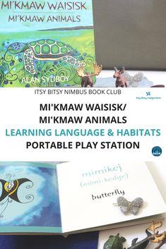 Learn Mi'kmaw and animal habitat sorting with Mi'kmaw Animals by Alan Syliboy (published by Nimbus Publishing)