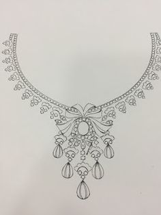Jewellery sketches drawings Jewellery sketches drawings The post Jewellery sketches drawings appeared first on Ruby Sanders. Aari Embroidery, Embroidery Neck Designs, Embroidery Patterns, Necklace Drawing, Jewelry Design Drawing, Donia, Jewelry Illustration, Jewellery Sketches, Fashion Design Sketches