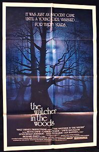 Bette Davis - 'The Watcher in the Woods' (1980) - the first scary movie Maegan was allowed to see. Of course it had to have Bette Davis in it.