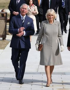 Prince Charles, Prince of Wales and Camilla, Duchess of Cornwall arrive at the Armed Forces Retirement home on the third day of a visit to the United States on March 19, 2015 in Washington, DC. The Prince and Duchess are in Washington as part of a four day visit to the United States.