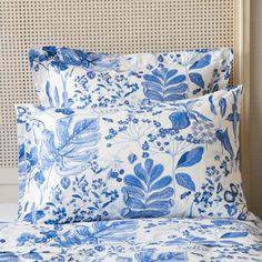 BLUE FLORAL BED LINEN - Bed Linen - Bedroom   Zara Home Sweden