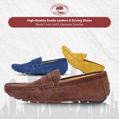 d3b8c692602 Mens Suede Driving Shoes – Long Lasting And Comfortable Footwear Made From  Natural Material