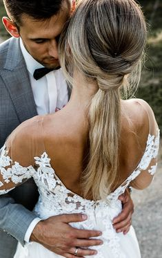 Wedding | aileenaxt.com Lace Wedding, Wedding Dresses, Backless, Fashion, Wedding Dress Lace, Nice Asses, Pictures, Bride Dresses, Moda