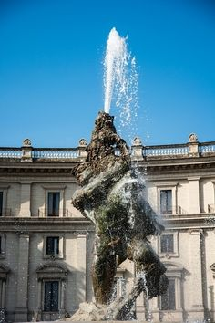 Fontana delle Naiadi - Rome | Ciao tutti, Ontdek Italië