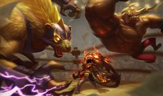 League of Legends - Splashart et Skin Voliber Catch http://www.helpmedias.com/leagueoflegends.php