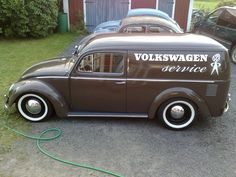 Where were you in the #1960's when I needed you, Mr #Volkswagon Service panel with wide #whitewalls and chrome moonie hubcaps? A thing of beauty!