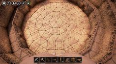 How to Build Circles, Spiral Stairs and Arena in the Conan Exiles Ark Survival Evolved Bases, Medieval, Conan Exiles, Building Map, Floor Patterns, One Ring, Spiral, Stairs, Building Designs