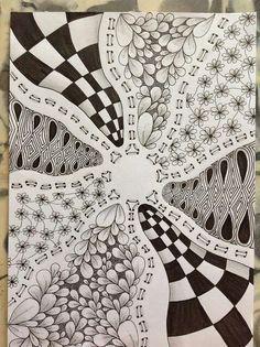 Zentangle inspired