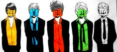 So+serious+by+ViolPro.deviantart.com+on+@DeviantArt  I love how Zane is the only one with a proper tie