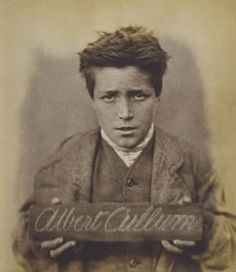 Victorian child prisoner, Albert Cullum