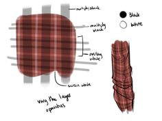 Quick and Easy Plaid by Meirii on DeviantArt Digital Painting Tutorials, Digital Art Tutorial, Art Tutorials, Drawing Tutorials, Body Drawing, Drawing Tips, Drawing Reference, Drawing Stuff, Warrior Cats Art