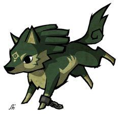 Windwaker style wolf link