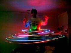 How to make an LED Hula Hoop