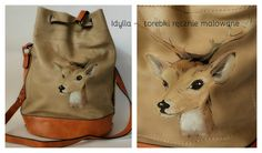 Idylla Torebka ręcznie malowana #handpainted #handbags #trendy
