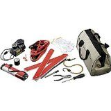 UPG 86039 Emergency Road Kit in Canvas Bag - 11 Piece