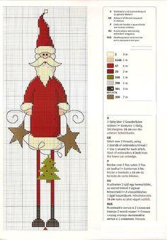 esquema de feriado para ponto cruz Miniatures Natal