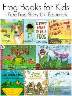 Children's Books Featuring Frogs - Picture books and early reader books!
