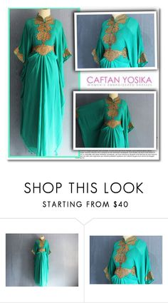 """caftanyosika.com"" by aida-nurkovic ❤ liked on Polyvore"