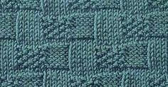 Every Saturday I will share with you a new stitch.  Today's stitch is: Basket Weave Moss Stitch.      A beautiful basket weave stitch wit...