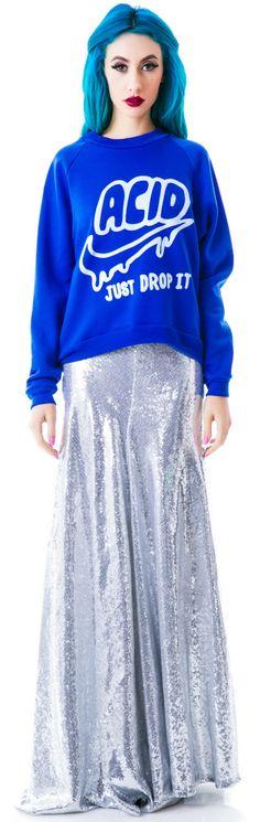 United Couture Drop Acid Sweatshirt | Dolls Kill