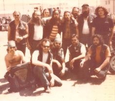 VAGOS M/C at the TRACY PRISON RUN back in the 70's