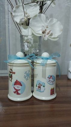 Nice christmas jars;)