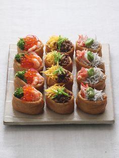 Inari Sushi - The Last Order Sushi Recipes, Asian Recipes, Cooking Recipes, Cute Food, Yummy Food, Aesthetic Food, Food Festival, Food Design, Diy Food