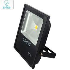 100W DC12V LED Flood Light LED spotlight 100W Warm/Cold White Outdoor spotlight Light LED Floodlight