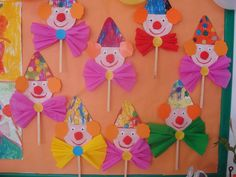 Home Decorating Style 2020 for Bricolage Cirque Maternelle, you can see Bricolage Cirque Maternelle and more pictures for Home Interior Designing 2020 at Coloriage Kids. Clown Crafts, Circus Crafts, Carnival Crafts, K Crafts, Preschool Crafts, Arts And Crafts, Paper Crafts, Diy For Kids, Crafts For Kids