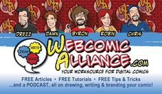 The #comics field is a bumpy road; learn from our mistakes at the Webcomic Alliance: http://ow.ly/Ug2fO (I'm a co-founder!) #art