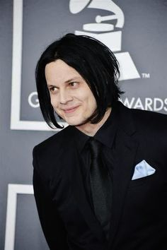 Love to see Jack White smile!