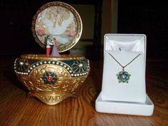 Anastasia Music Box with Necklace Key. yes please.