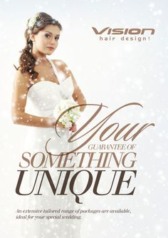 Wedding Flyer Back | Wedding Packages At Vision Hair Design Ltd ...
