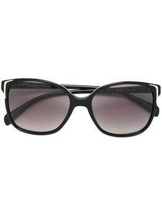ee271f46292 Shop Prada Eyewear squared frame sunglasses. Eyewear