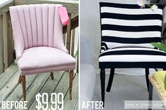 Great DIY upholstery tips!