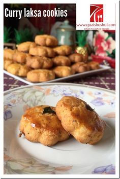 Chinese New Year Recipes: Curry Laksa Cookies (咖喱辣沙曲奇) #guaishushu   #Kenneth_goh #cookies
