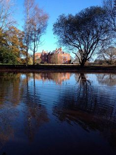 The beautiful Grace Ann's Lake at stunning #Wedding Venue @iscoydpark in #Shropshire