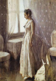 Anders Zorn - The bride