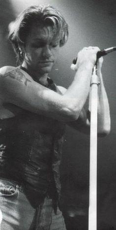 Jon Bon Jovi circa 1993 in B&W