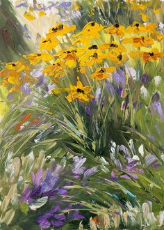 """Excellent use of """"active"""" brush strokes which  bring this painting ALIVE! Kit Hevron Mahoney"""