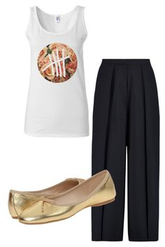 """""""Ootd simple"""" by mechefbu on Polyvore featuring Iris & Ink and Nine West"""