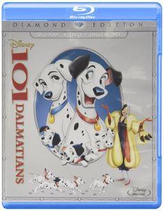 101 Dalmatians: Diamond Edition [Blu-ray + DVD + Digital Copy] (Bilingual)