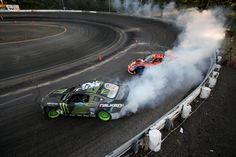 Tire Slayer Vaughn Gittin Jr. drifts this one to victory at Formula Drift Rd. 4 in New Jersey! Monster Energy domination!