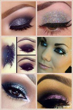 Dance - my studio Pin Up Makeup, Crazy Makeup, Makeup Art, Makeup Tips, Makeup Ideas, 50s Makeup, Fairy Makeup, Mermaid Makeup, Fantasy Hair
