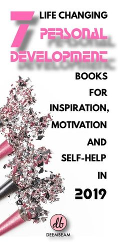 7 Personal Development Books For Inspiration, Motivation And Self-Help Personal Development Books, Self Development, Good Books, Books To Read, Self Improvement Tips, Lectures, Inspirational Books, Motivation, Best Self